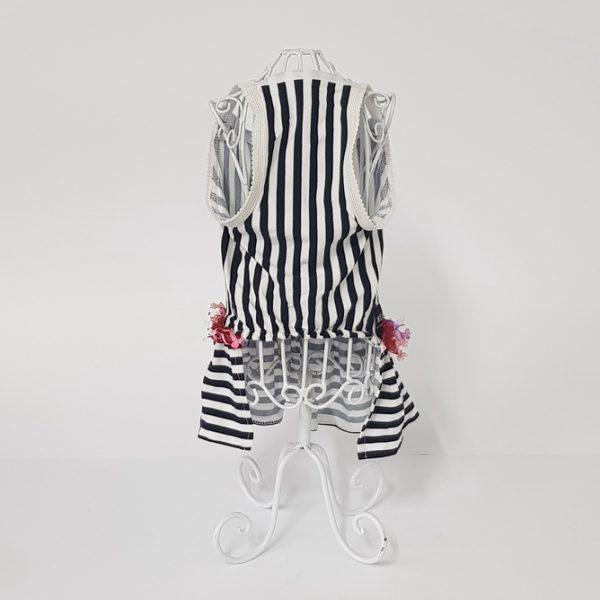 SUMMER mornarski set: haljina, ogrlica i mašnica