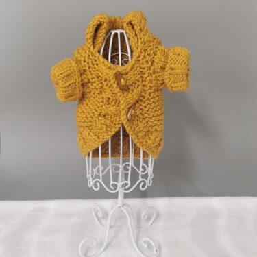 BIBI Džemperi – prljavo žuti